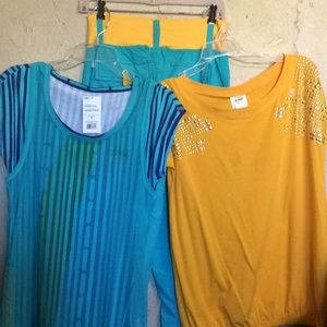 Zumba Outfit, 5 piece, new with tags
